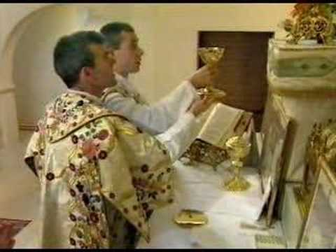 le saint sacrifice de la messe 1